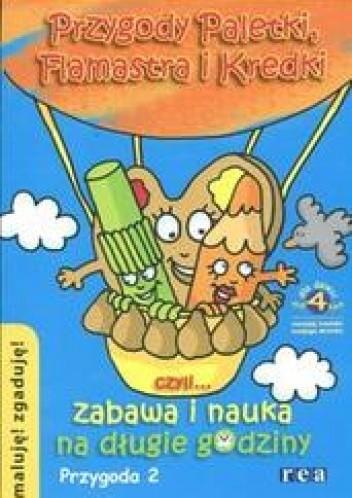 Okładka książki Przygody Paletki Flamastra i Kredki 2