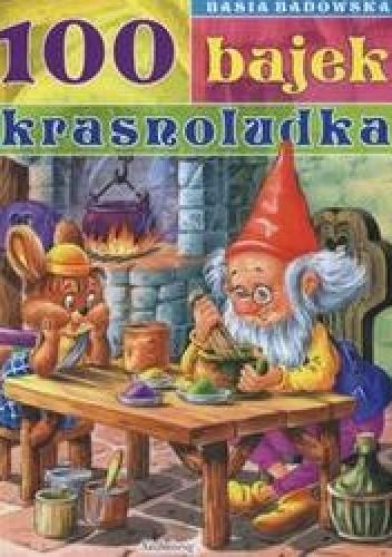 Okładka książki 100 bajek krasnoludka