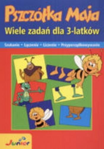Okładka książki Pszczółka Maja Wiele zadań dla 3-latków