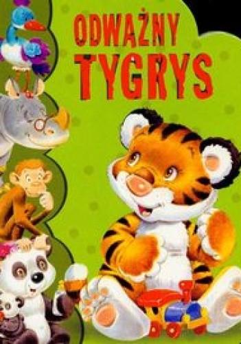 Okładka książki Odważny Tygrys Wykrojnik