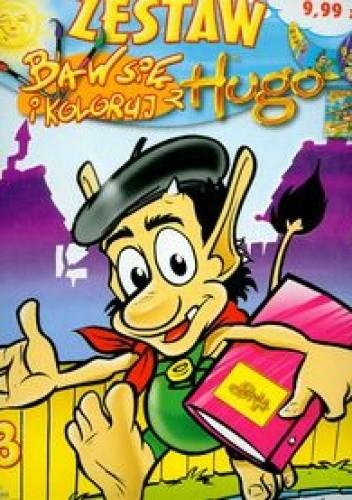 Okładka książki Baw się i koloruj z Hugo 3 zestaw