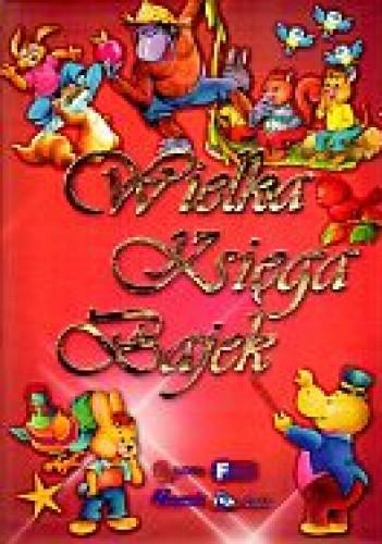 Okładka książki Wielka księga bajek