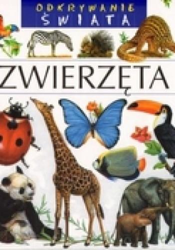Okładka książki zwierzęta. Odkrywanie świata