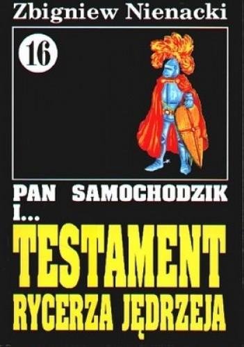 Okładka książki Pan Samochodzik i testament rycerza Jędrzeja