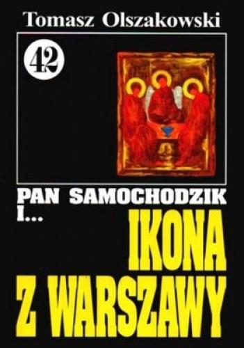 Okładka książki Pan Samochodzik i ikona z Warszawy