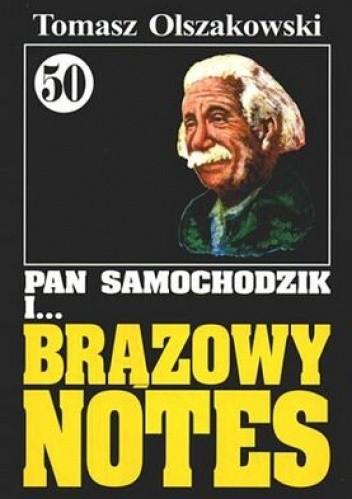 Okładka książki Pan Samochodzik i brązowy notes