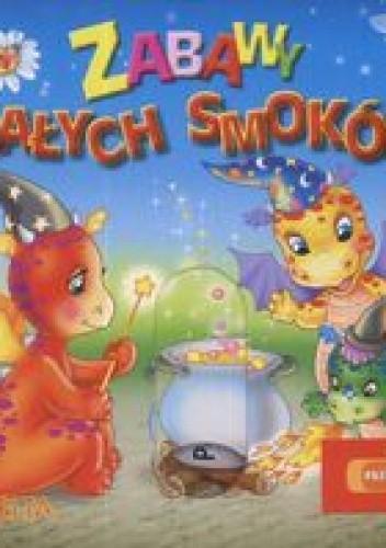 Okładka książki zabawy małych smoków Przesuwanki