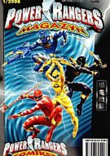 Okładka książki Power Rangers. Magazyn. Wydanie specjalne 1/2008