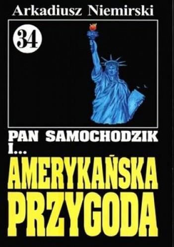 Okładka książki Pan Samochodzik i amerykańska przygoda