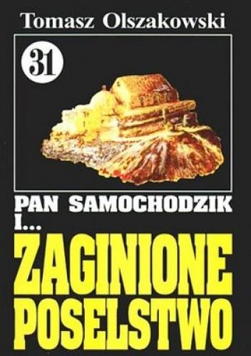Okładka książki Pan Samochodzik i zaginione poselstwo