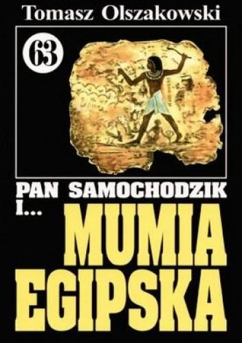 Okładka książki Pan Samochodzik i mumia egipska