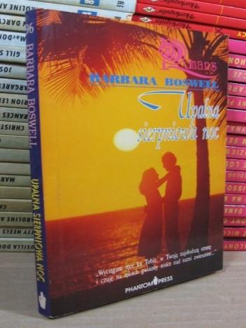Okładka książki Upalna sierpniowa noc