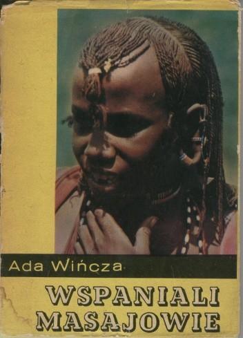 Okładka książki Wspaniali Masajowie