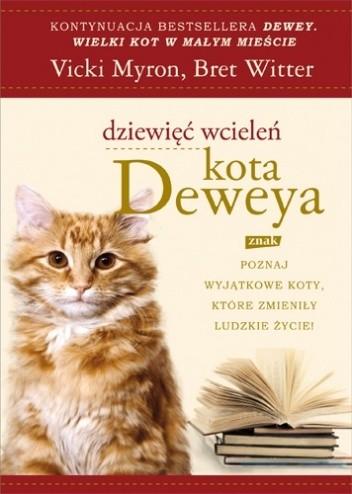Okładka książki Dziewięć wcieleń kota Deweya