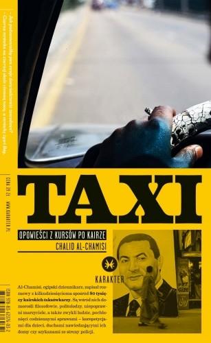 Okładka książki Taxi. Opowieści z kursów po Kairze