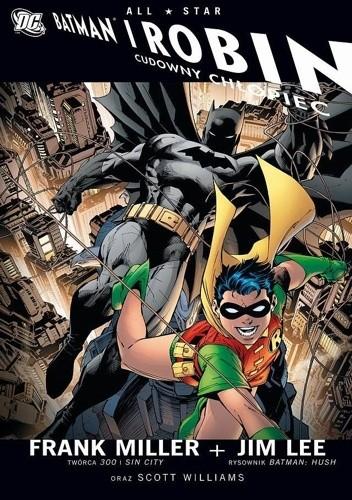 Okładka książki Batman i Robin: Cudowny Chłopiec