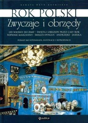 Okładka książki Rok polski. Zwyczaje i obrzędy