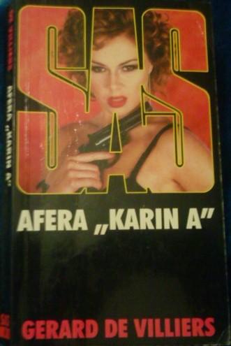 Okładka książki SAS Afera