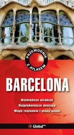 Okładka książki Barcelona. Przewodnik z atlasem