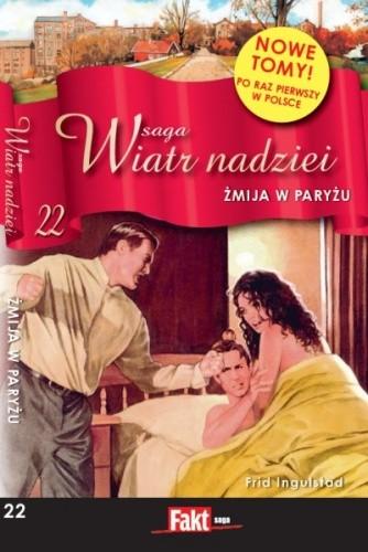 Okładka książki Żmija w Paryżu