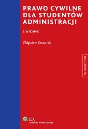 Okładka książki Prawo cywilne dla studentów administracji