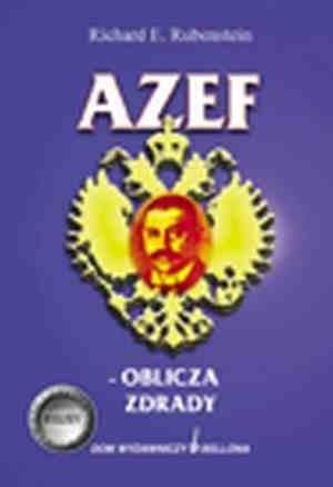 Okładka książki Azef - oblicza zdrady