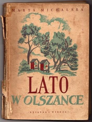 Okładka książki Lato w Olszance
