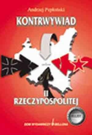 Okładka książki Kontrwywiad II Rzeczypospolitej