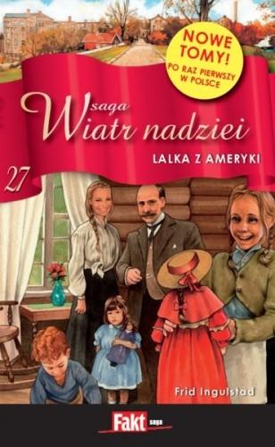 Okładka książki Lalka z Ameryki