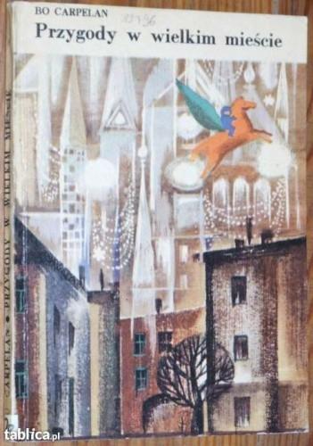 Okładka książki Przygody w wielkim mieście