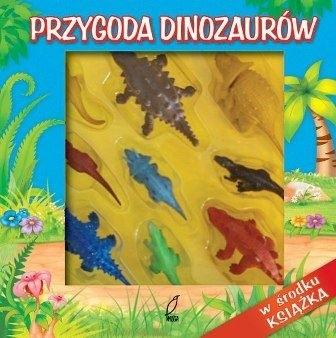 Okładka książki Przygoda Dinozaurów