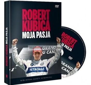 Okładka książki Robert Kubica - moja pasja