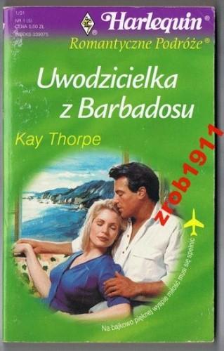 Okładka książki Uwodzicielka z Barbadosu