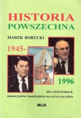 Okładka książki Historia powszechna 1945-1996