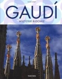 Okładka książki Gaudi. Wszystkie budowle