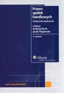 Okładka książki Prawo spółek handlowych. Podręcznik akademicki