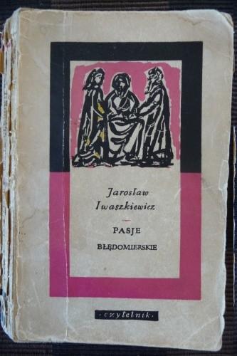 Okładka książki Pasje błędomierskie