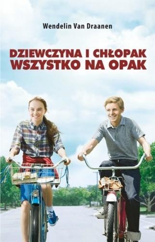 Okładka książki Dziewczyna i chłopak wszystko na opak
