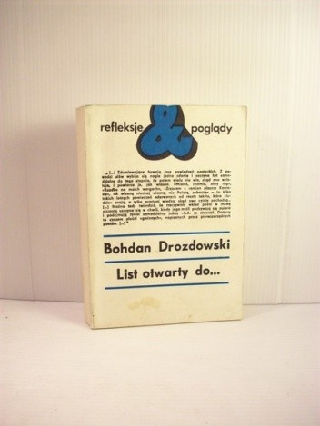 Okładka książki List otwarty do...