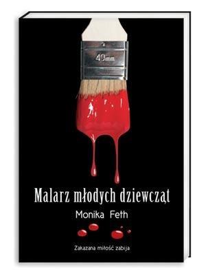 Okładka książki Malarz młodych dziewcząt