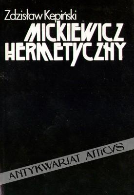 Okładka książki Mickiewicz hermetyczny