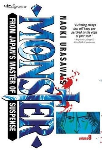 Okładka książki Naoki Urasawa's Monster vol. 8