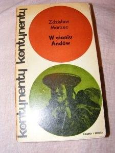 Okładka książki W cieniu Andów