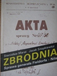 Okładka książki Zbrodnia. Sprawa generała Fieldorfa - Nila