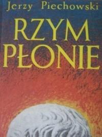 Okładka książki Rzym płonie