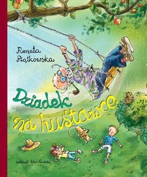 Okładka książki Dziadek na huśtawce