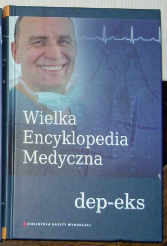 Okładka książki Wielka Encyklopedia Medyczna (dep-eks)