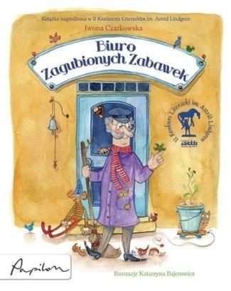 Okładka książki Biuro Zagubionych Zabawek