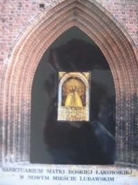 Okładka książki Sanktuarium Matki Boskiej Łąkowskiej w Nowym Mieście Lubawskim