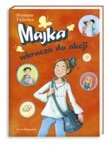 Okładka książki Majka wkracza do akcji